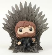 Funko 37404 Tyrion Lannister on Iron Throne